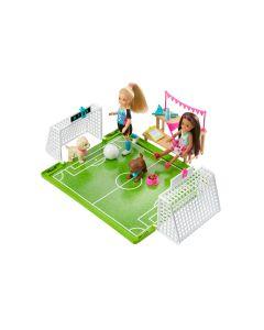 Zestaw Boisko do piłki nożnej Barbie