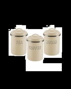 Zestaw pojemników Tea Coffee Sugar Typhoon