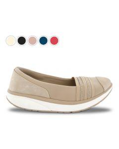 Baleriny wiosenne Stripe Comfort Walkmaxx